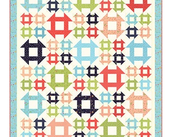 Quilt Pattern - Lattice Quilt Pattern - Sherr McConnell - Moda Fabrics - Fat Quarter Quilt Pattern