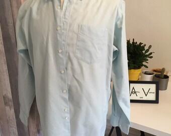 Menta verde Hugo Boss camisa