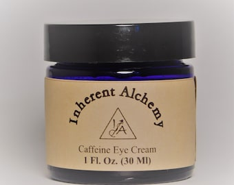Caffeine Eye Treatment, Organic Eye Treatment, Eye Cream, De-Puffing Eye Treatment, Under Eye Treatment, 1 Fl. Oz.