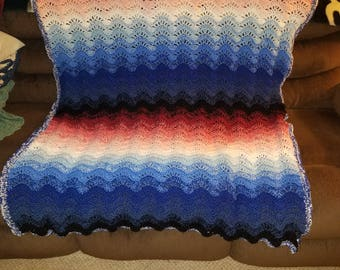 Dusk to Dawn Afghan