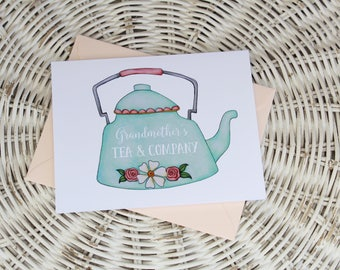Mother's Day Notecard - Grandmother's Tea Company