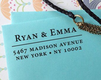 CUSTOM ADDRESS STAMP with proof from usa, Eco Friendly Self-Inking stamp, rsvp address stamp, custom stamp, return address custom stamper 20