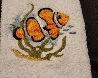 Clown Fish Towel