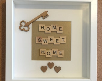 Scrabble New Home Frame