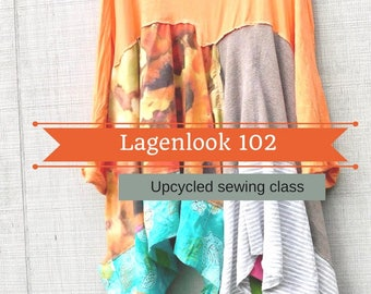 Sewing Classes, Upcycled Sewing, Refashion, Reclaimed, Repurposed, Sew, Online Class, Boho, Sewing 102, Tutorials, Vintage, Simple Sewing