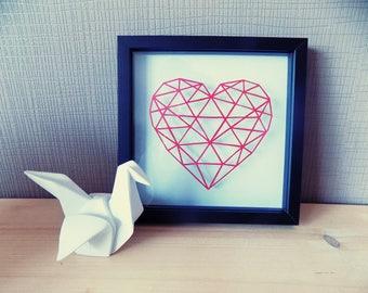 """Heart"" Kirigami. Papercutting"