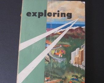 "1958 Edition Boy Scouts of America ""Exploring"" Paperback Book"