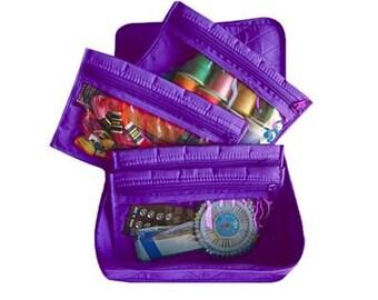 Yazzii 4-Pocket Organizer - PURPLE