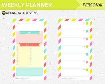 Filofax Personal Filofax Printable To-Do List, Filofax To Do List, Printable Filofax Planner Printable, Productivity Planner Pages