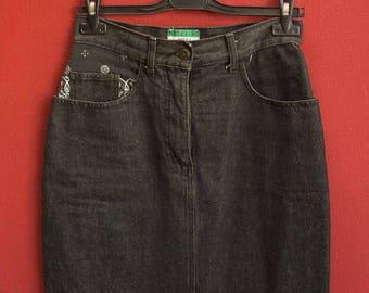 Moschino Jeans vintage denim skirt