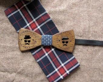 wood bow tie mustache, Wood Bow Ties, Wood Bow Ties for Men, Wedding Bow Tie, wooden bow tie, wooden bowtie, wood bow tie,groomsmen gift,