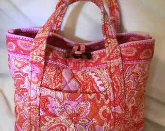 3 Classic Vera Bradley handbags in retired patterns