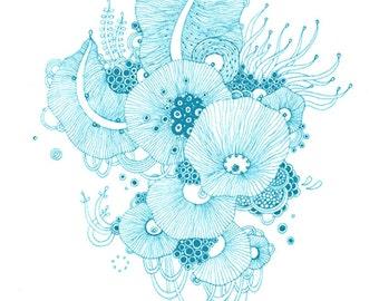 Giclee Fine Art Print - Shiver - 5x7