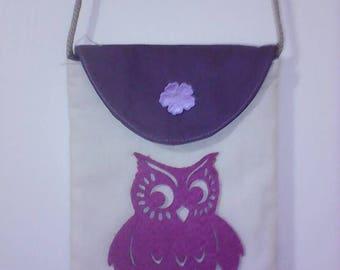 OWL girl purse