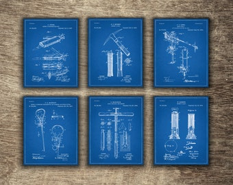 Mining Wall Decor Blueprint, Mining Art, Mining Poster, Mining Printable, Gift for Miner, Mining Group of 6 Patents - INSTANT DOWNLOAD -