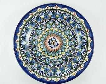 Uzbekistan plates wall hanging Uzbek ceramics buy plates for standsplates wall decor  sc 1 st  Etsy & Decorative plates   Etsy
