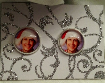 Christmas Vacation Inspired Clark Griswold Earrings!