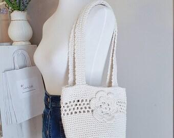 Crochet Shoulder Bag, Crochet Purse, Boho Handbag