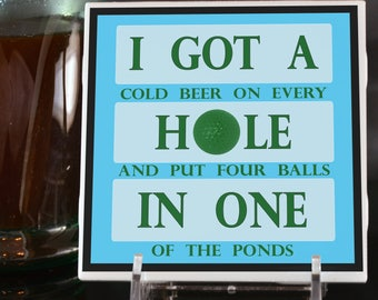 Hole In One Coaster