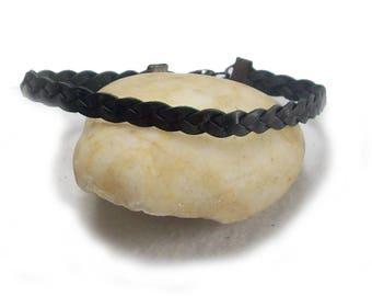 Mens Gift Mans Bracelet Mens Bracelet Mens Leather Bracelet 9 Inch Mans Bracelet Mens Leather Bracelet - 17096
