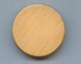 Wooden Basket Bottom Pine 2 inch round