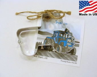 Tractor Cookie Cutter by Ann Clark