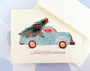 Christmas Cards, Holiday Cards, Christmas Card Set, Set of 10