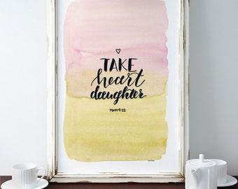 Take Heart, my Daughter