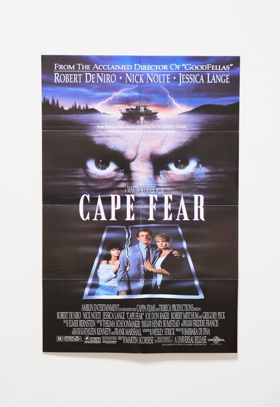 Original Theatrical One Sheet Film Poster - Cape Fear