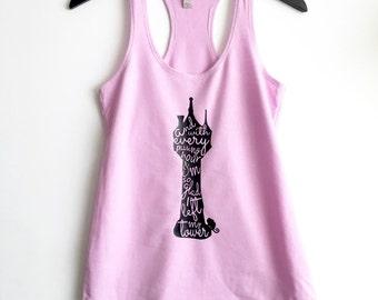 Rapunzel's Tower Racerback Tank