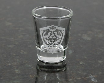 Legend of Zelda Hylian Shield Shot Glass