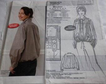 Women's jacket pattern 36 to 48