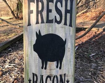 Fresh bacon