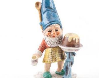 "Goebel Co-Boy baking gnome #506 rare Hummel figurine ""1970"""