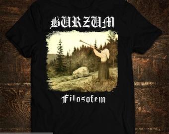 T-Shirt Burzum Filosofem Varg Vikernes