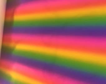 Rainbow Mirror Vinyl fabric
