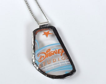 Broken China Jewelry Pendant - Disney - Disney Studios