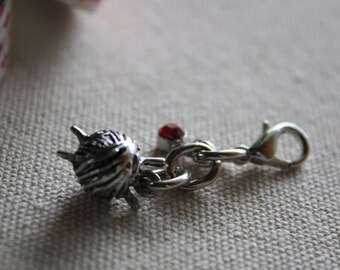 knitters charm - planner charm - zipper pull - purse charm
