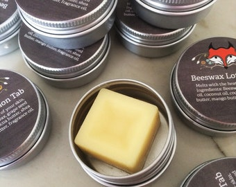 Purse Size Beeswax Lotion Tab
