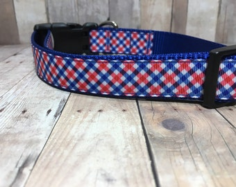"The Smith | Designer 1"" Width Dog Collar 
