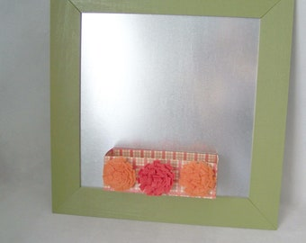 Magnetic Message Board with Magnet Box