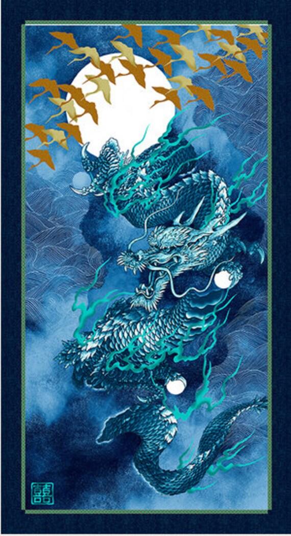 Dragon Moon Panel by Kona Bay Nobu Fujiyama Collection