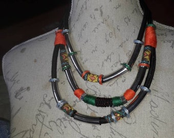 Tribal, Boho, classic necklace