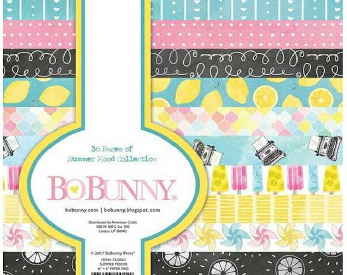 Bo bunny summer mood 6x6 paper pad