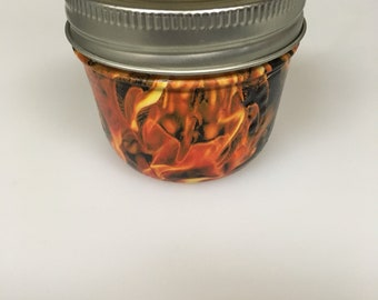 Hydrographic Printed Stash Jar