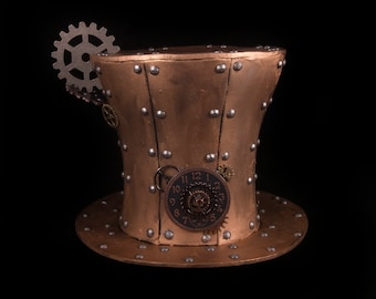 Steampunk Tall Tophat