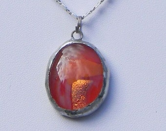 Orange Drop Pendant