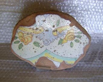 frammento maiolica antica