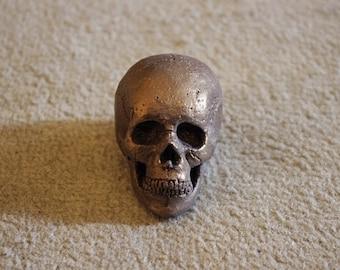 Bronze mini skull
