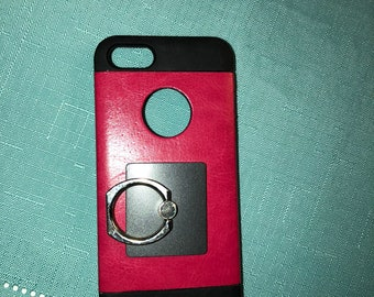 pink and black iphone 5 case